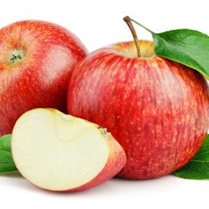 Pommes bicolore