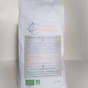 Sachet de farine de blé T65 Bio HappyPanier