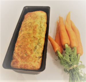 Cake et botte de carottes