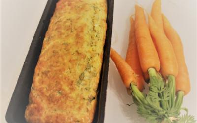 Le cake aux fanes de carottes