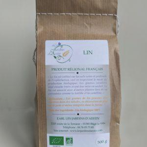 Sachet de graines de lin Bio